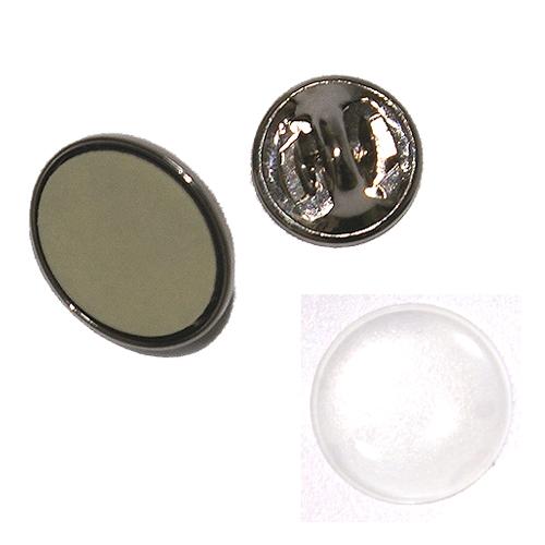 ドームスリム片面20ミリ丸型ピンズ